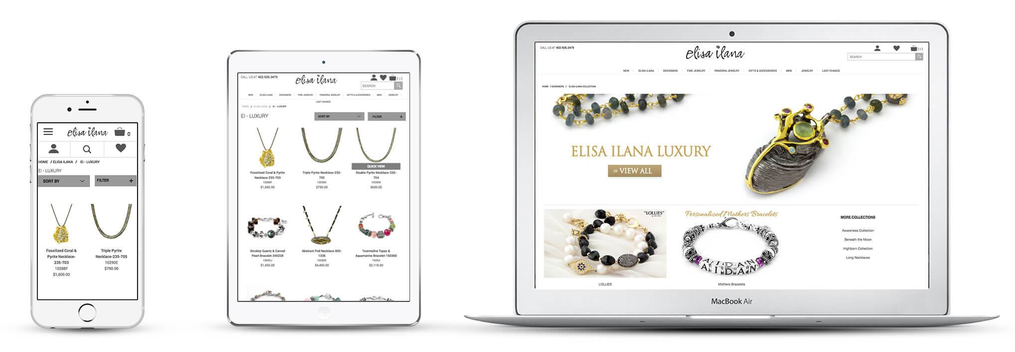 Echidna Elisailana Website Design Across Devices